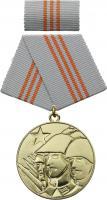 B.0208d Medaille für Waffenbrüderschaft Gold