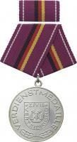 B.0231a Verdienstmedaille Zivilverteidigung Silber