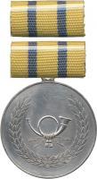 B.0234c Verdienstmedaille Post Silber