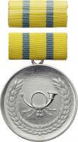 B.0234b Verdienstmedaille Post Silber