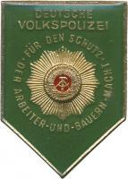 B.0380 Abzeichen Deutsche Volkspolize