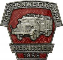 B.0412/ 1968 Kreisausscheid Gruppenwettkampf Silber