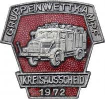 B.0412/ 1972 Kreisausscheid Gruppenwettkampf Silber