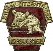 B.0420/ 1974 Kreisausscheid Sturmleitersteigen Gold