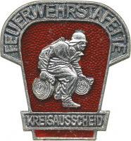 B.0451 Kreisausscheid Feuerwehr-Staffette Silber