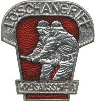 B.0454 Kreisausscheid Löschangriff Silber