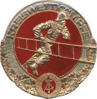 B.0492 Feuerwehr-Siegermedaillen Kreiswettkämpfe Gold