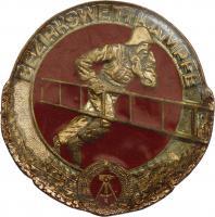 B.0497 Feuerwehr-Siegermedaillen Bezirkswettkämpfe Bronze