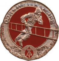 B.0500 Feuerwehr-Siegermedaillen DDR-Wettkämpfe Bronze
