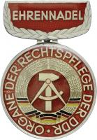 B.0552c Ehrenmedaille Rechtspflege Silber