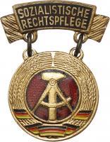 B.0553a Ehrenmedaille Rechtspflege Bronze