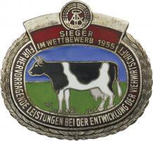 B.0582 Sieger im Wettbewerb Viehwirtschaft