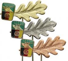 B.0621-623 Jagdrichterabzeichen komplett