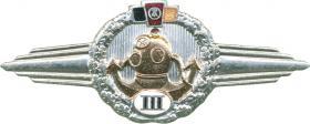 B.0732N Klass. Abzeichen Spezialtaucher Stufe III