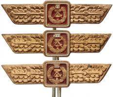 B.0733c-735c Klass. Abzeichen Land- und Seestreitkräfte I-III Miniatur