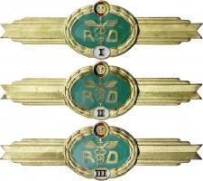 B.0754/56 Klass. Abzeichen Rückwärtige Dienste