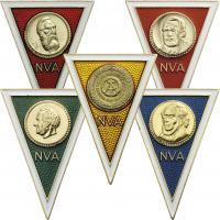 Absolventenabzeichen - Offizielle Nachprägungen der PRÄWEMA 1990