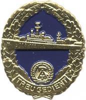 B.0842 NVA Reservistenabzeichen Seestreitkräfte
