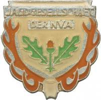 B.0844a NVA Ehrennadel Jagdwesen Stufe Silber