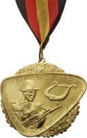 B.0912S1 Soldatenfestspiele Wachregiment Gold