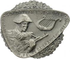B.0913c Soldatenfestspiele Wachregiment Silber