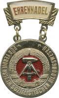 B.0941d Ehrennadel Soz. Bildungswesen