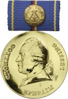 B.0943h Lessing-Medaille Gold