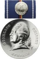 B.0944h Lessing-Medaille Silber