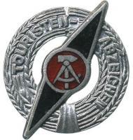 B.0965d Touristenabzeichen Silber