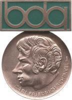 B.1353 Karl-Friedrich-Schinkel-Medaille Bronze