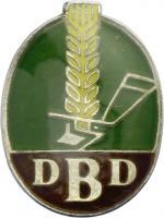 B.1393b Ehrenzeichen DBD