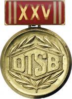 B.1440 Ehrenmedaille XXV Jahre DTSB