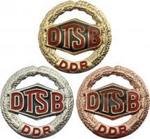 B.1444-1446 Ehrennadel DTSB Gold-Silber-Bronze
