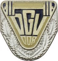 B.1814c DGV Ehrennadel Silber