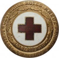 B.2163a DRK Ehrenzeichen Gold