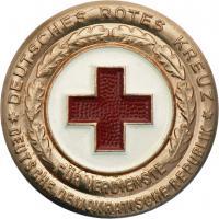 B.2165k DRK Ehrenzeichen Bronze