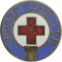 B.2201a Abzeichen Junger Sanitäter im Jugendrotkreuz