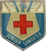 B.2203d Abzeichen Junger Sanitäter - Silber