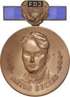 B.2359a Artur-Becker-Medaille der FDJ Bronze