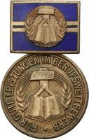 B.2426/62 Medaille Berufswettbewerb 1962-64 Bronze