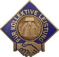B.2444b Abzeichen für kollektive Leistung Bronze