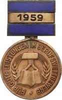 B.2447/59 Med. des Berufswettbewerbs im Handwerk 1959