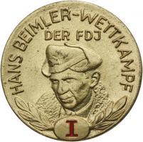 B.2511 FDJ Hans-Beimler-Abzeichen Stufe I.