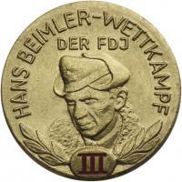 B.2513 FDJ Hans-Beimler-Abzeichen Stufe III.