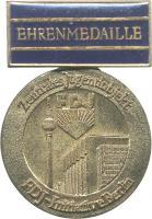 B.2603 Ehrenmedaille Zentrales Jugendobjekt Berlin