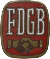 B.2801a Mitgliedsabzeichen FDGB