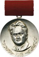 B.2805c Fritz-Heckert-Medaille Silber