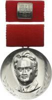 B.2805f Fritz-Heckert-Medaille Silber