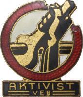 B.2811a FDGB Aktivistenabzeichen