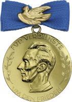 B.2871d Deutsche Friedensmedaille Gold
